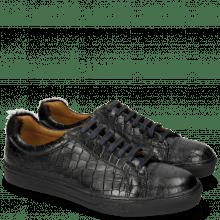 Sneakers Adrian 1 Crock Black Hair On Breeze Turchese