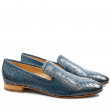 Loafers Claire 6 Baby Brio Perfo Mid Blue LS