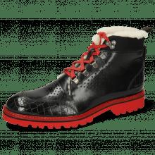 Ankle boots Trevor 5 Crock Black Lycra