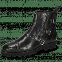 Ankle boots Susan 45 Crock Black Guanna Black
