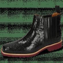Ankle boots Bella 1 Crock Black Elastic Black