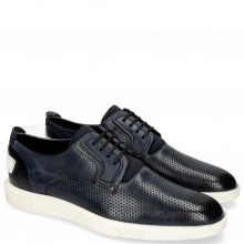 Sneakers Newton 1 Franky Perfo Navy Tongue Lycra Navy