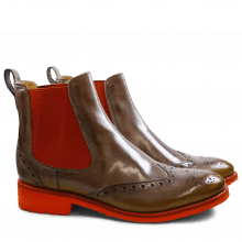 Ankle boots Amelie 5 Ash Shade Sun Elastic Orange