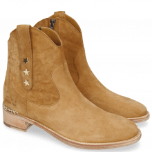 Ankle boots Lizzy 1 Lima Camel Star Gold