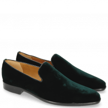 Loafers Emma 9 Velluto Pine Binding Patent Oriental