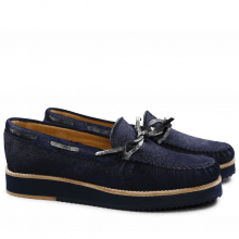 Loafers Bea 7 Blue Graphite Black