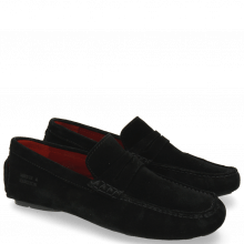 Loafers Driver 4 Suede Black RS