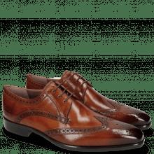 Derby shoes Lance 2 Tan Lining Purple