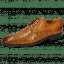 Derby shoes Alex 1 Berlin Perfo Tan