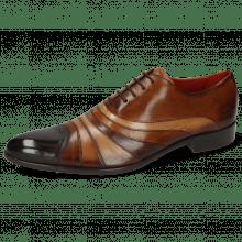Oxford shoes Toni 43 Espresso Wood Tan