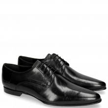 Derby shoes Sidney 1 Black LS Slim