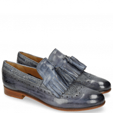 Loafers Selina 3 Moroccan Blue Denim Light Blue