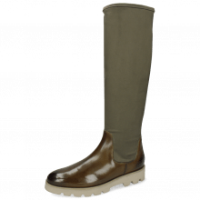 Boots Susan 95  Olive Stretch Destino Juncle
