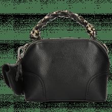 Handbags Zinnia Prato Black Handle Hairon Tweed