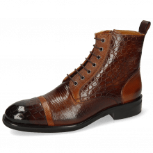 Ankle boots Patrick 28 Crock Mid Brown Dice Tan Guann
