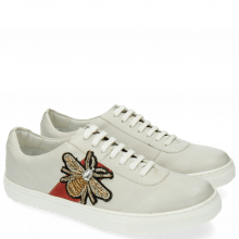 Sneakers Jean 3 Buttero White Patch Gold