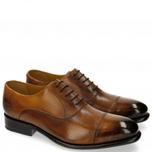 Oxford shoes Charles 10 Tan