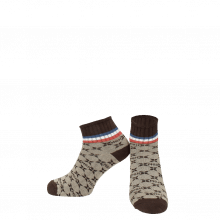 Socks Lorie 1 Ankle Socks Beige Brown