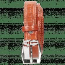 Belts Linda 1 Crock Winter Orange Sword Buckle