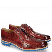Derby shoes Eddy 8 Crock Ruby