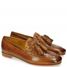 Loafers Scarlett 15 Tan Lasercut