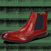 Ankle boots Greg 2 Venice Crock Ruby Elastic Black