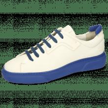 Sneakers Harvey 35 Vegas White Lycra Electric Blue