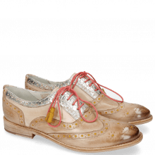 Oxford shoes Amelie 70 Vegas Corda Underlay Yellow