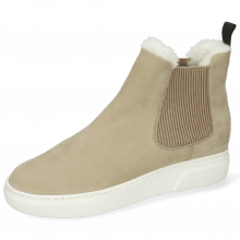 Ankle boots Hailey 2 Como Sabbia Sherling Light White