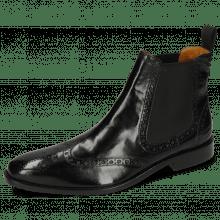 Ankle boots Xabi 2 Berlin Black Elastic Black M&H Rubber Navy