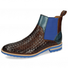 Ankle boots Brad 9 Woven Mid Brown Ice Lake
