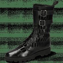 Boots Selina 50 Black Lasercut