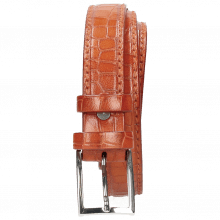 Belts Linda 1 Crock Winter Orange Classic Buckle