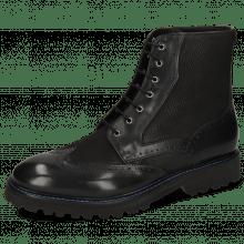 Ankle boots Matthew 43 Como Black Hand Stitching
