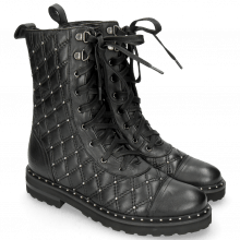 Ankle boots Bonnie 23 Nappa Black Rivets