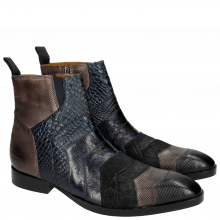 Ankle boots Ricky 6 London Fog Stone Navy Night Blue