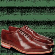 Oxford shoes Lance 40 Ruby Lasercut Crown