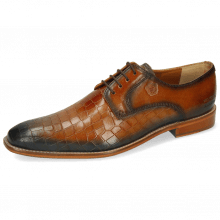Derby shoes Martin 1 Venice Crock Tan Shade Wind