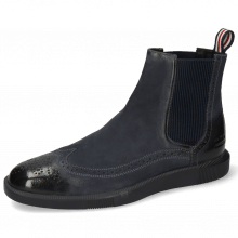 Ankle boots Newton 17 Como Navy Loop French