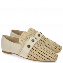 Loafers Erika 2 Nude Wax Rivets