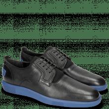 Sneakers Newton 1 Franky Black Tongue Lycra Black