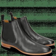 Ankle boots Clint 7 Pavia Black Elastic Black