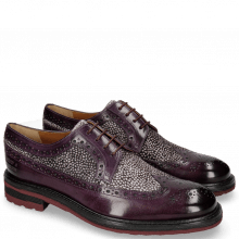 Derby shoes Trevor 10 Violet Hairon Halftone Viola