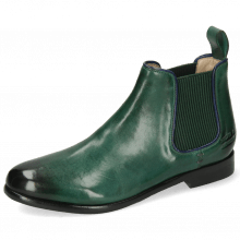 Ankle boots Selina 48 Imola Dark Green Binding Navy