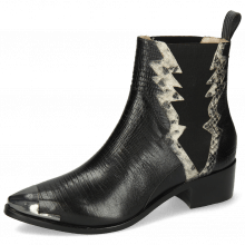 Ankle boots May 1 Guanna Black Snake Off White