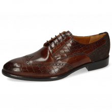 Derby shoes Bobby 1 Crock Mid Brown Lima Espresso