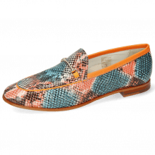 Loafers Scarlett 1 Snake King Multi Rust