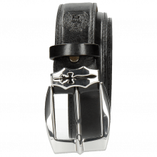 Belts Larry 2 Black Sword Buckle