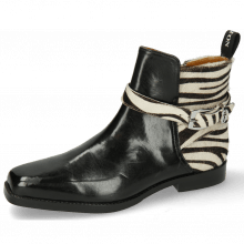 Ankle boots Bella 2 Black Hairon Zebra Sword