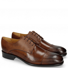 Derby shoes Patrick 6 Dice Wood